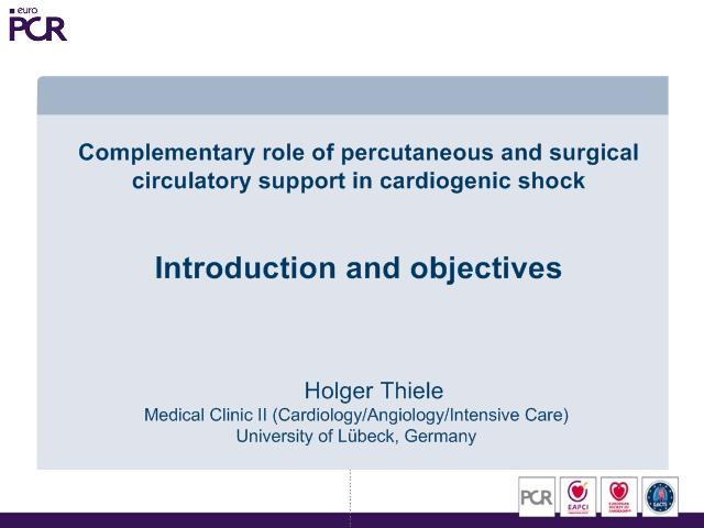 Complementary role of percutaneous and surgical circulatory